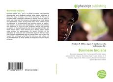Bookcover of Burmese Indians