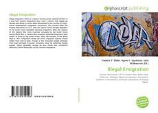 Bookcover of Illegal Emigration