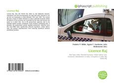 Bookcover of Licence Raj