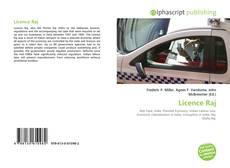 Capa do livro de Licence Raj