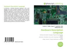 Capa do livro de Hardware Description Language