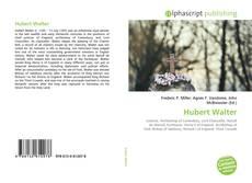 Couverture de Hubert Walter