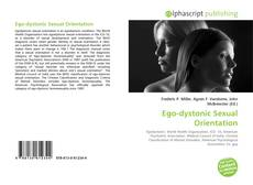 Capa do livro de Ego-dystonic Sexual Orientation
