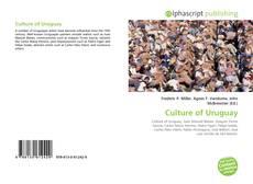 Bookcover of Culture of Uruguay