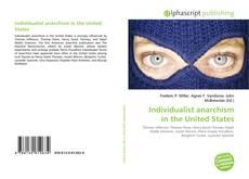 Portada del libro de Individualist anarchism in the United States