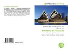 Обложка Economy of Australia
