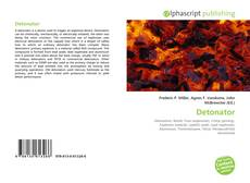 Bookcover of Detonator