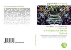 Copertina di Car Allowance Rebate System