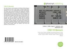 Capa do livro de CIM-10 Bomarc