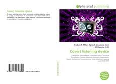 Covert listening device的封面