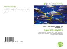 Bookcover of Aquatic Ecosystem