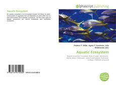 Aquatic Ecosystem kitap kapağı