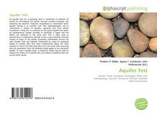 Bookcover of Aquifer Test