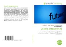 Borítókép a  Generic programming - hoz