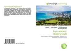 Bookcover of Environment (biophysical)