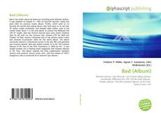 Bookcover of Bad (Album)