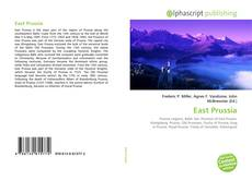 Bookcover of East Prussia