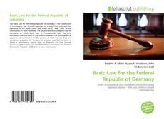 Portada del libro de Basic Law for the Federal Republic of Germany