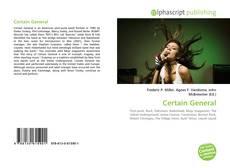 Buchcover von Certain General