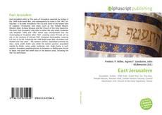Bookcover of East Jerusalem