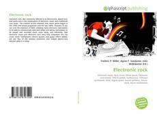 Обложка Electronic rock