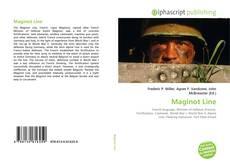 Maginot Line的封面