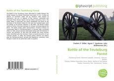 Copertina di Battle of the Teutoburg Forest