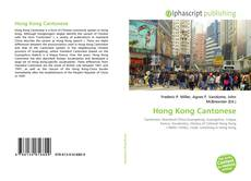 Bookcover of Hong Kong Cantonese