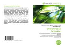 Bookcover of Environmental Protection