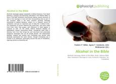 Bookcover of Alcohol in the Bible