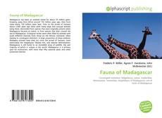 Обложка Fauna of Madagascar