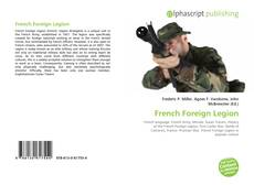 Bookcover of French Foreign Legion
