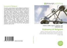 Copertina di Economy of Belgium