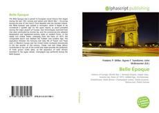 Capa do livro de Belle Époque