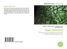 Couverture de Higher Dimension