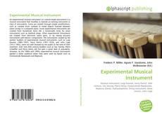 Experimental Musical Instrument kitap kapağı