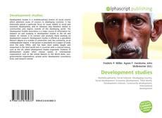 Bookcover of Development studies