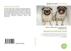 Bookcover of American Kennel Club
