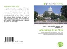 Annexation Bill of 1866的封面