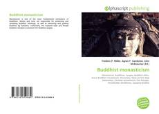Bookcover of Buddhist monasticism