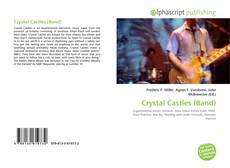 Portada del libro de Crystal Castles (Band)
