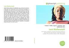 Bookcover of Leni Riefenstahl