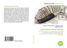 Genovese crime family kitap kapağı