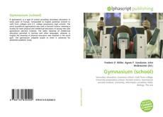 Bookcover of Gymnasium (school)