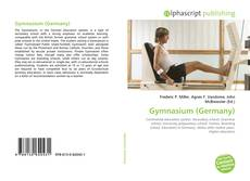 Bookcover of Gymnasium (Germany)