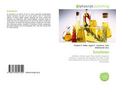 Bookcover of Emulsion