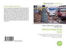 Bookcover of Moment Magnitude Scale
