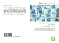 Bookcover of Financial Crisis