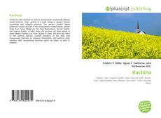 Bookcover of Kachina