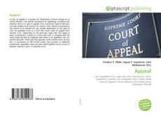 Bookcover of Appeal